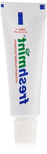 Wholesale 144 Tubes Freshmint Fluoride Toothpaste Travel Bul