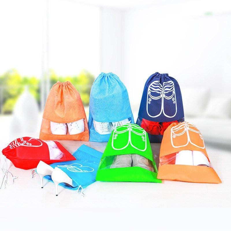 2 Bags Pouch Women Bag Drawstring Packing Organizer Men journay Organizador