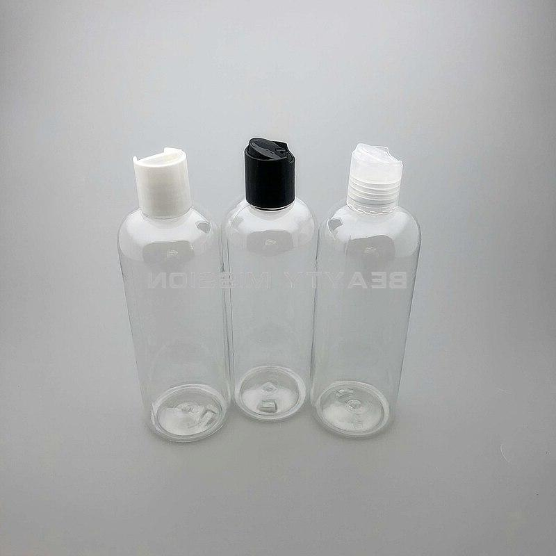 BEAUTY MISSION Disc Cap bottle PET <font><b>size</b></font> plastic bottles for Shampoo