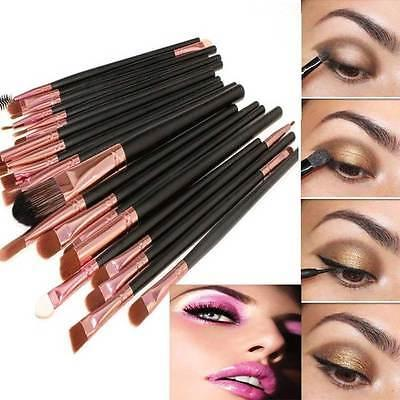 20pcs Makeup BRUSHES Set Eyeliner
