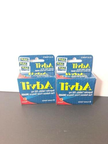 2pack tablets travel size 6ct each packs