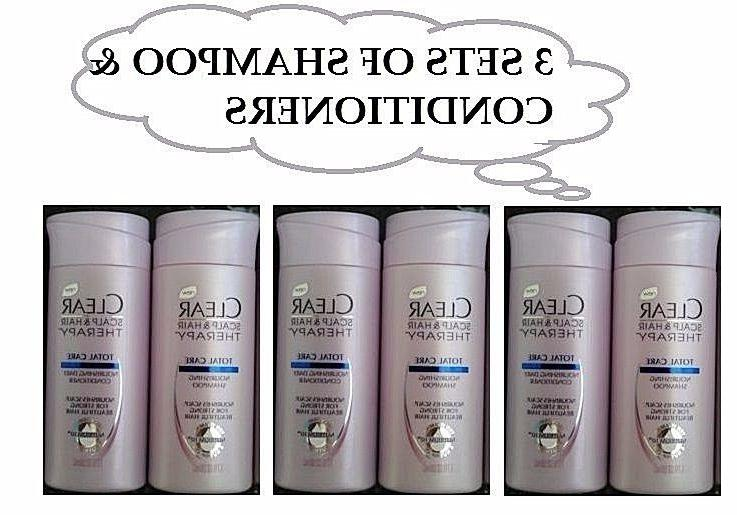 3 sets scalp and hair therapy shampoo