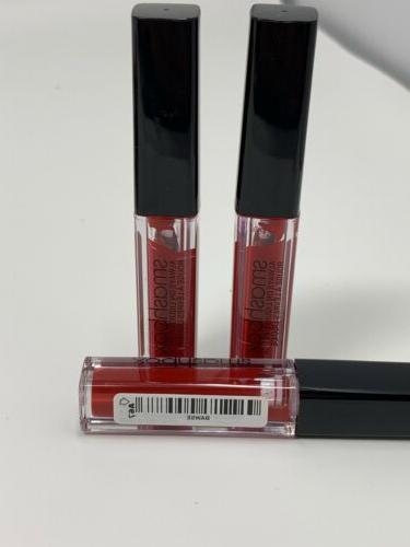 3 Travel Size Matte Liquid in BAWSE Red