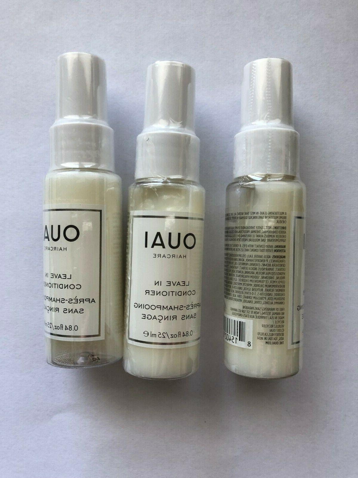 3x haircare leave in conditioner travel size