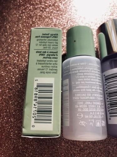 Clinique 4 Piece Set Makeup Remover & Moisturizers