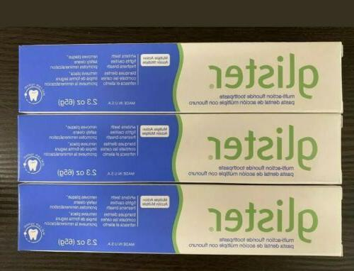 6 amway multi action fluoride toothpaste travel