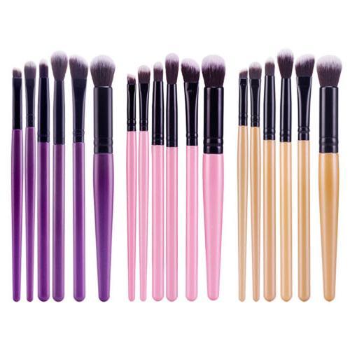 6PCS Pro Makeup Brushes Set Foundation Powder Eyeshadow Eyel