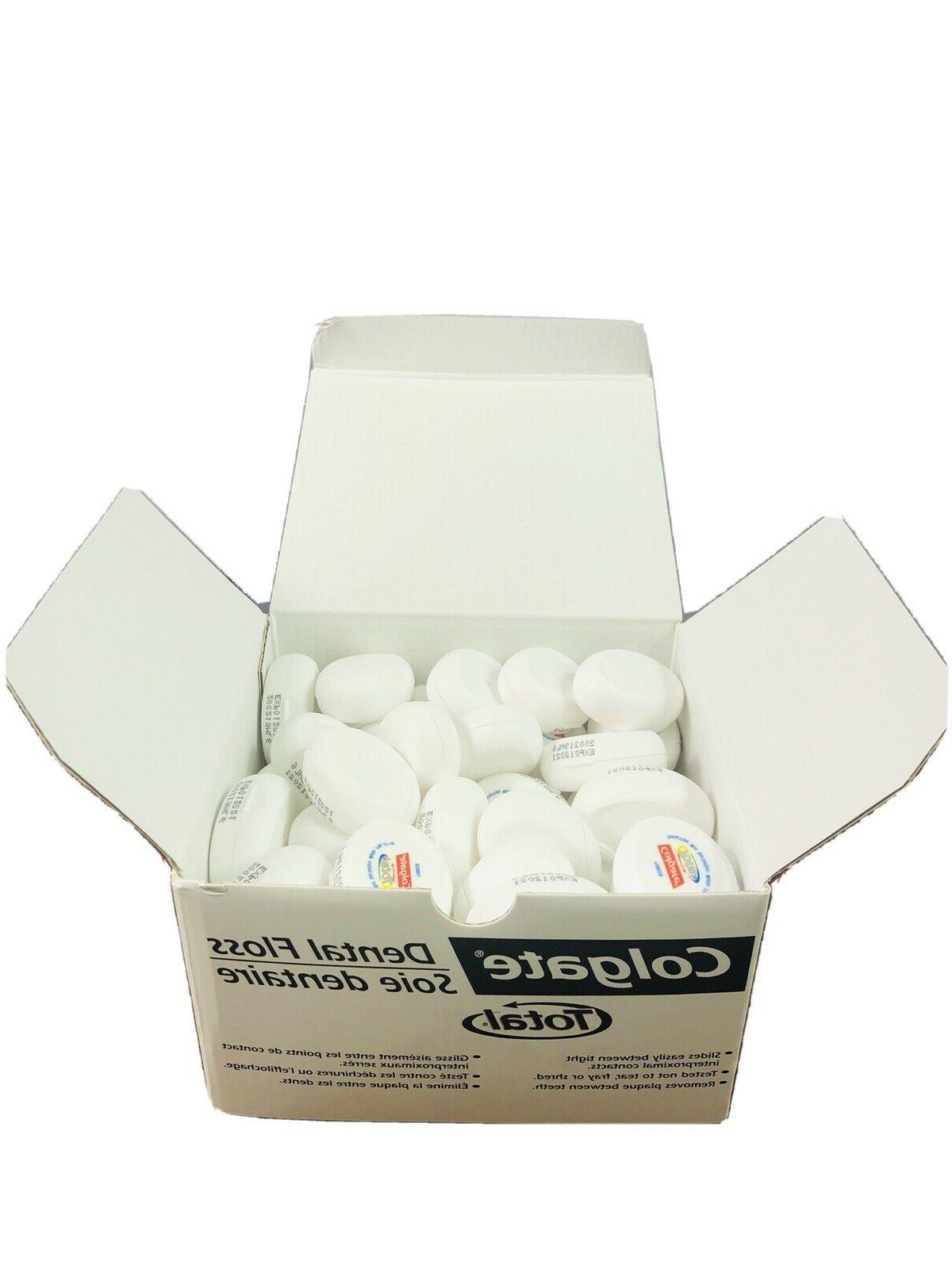 72 total mint dental floss travel sample