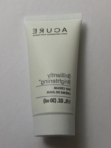 ACURE Brilliantly Brightening Day Cream 1 FL OZ / 30 ml Trav