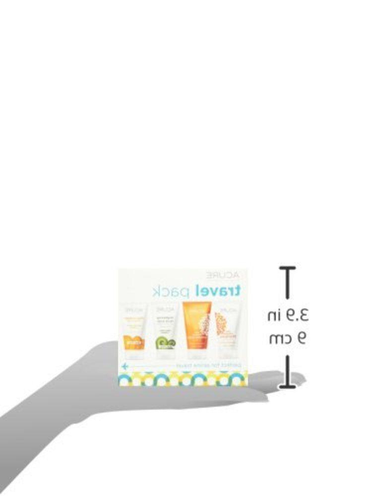 ACURE Travel Kit, Shampoo, Conditioner, Day Cream and Facial...