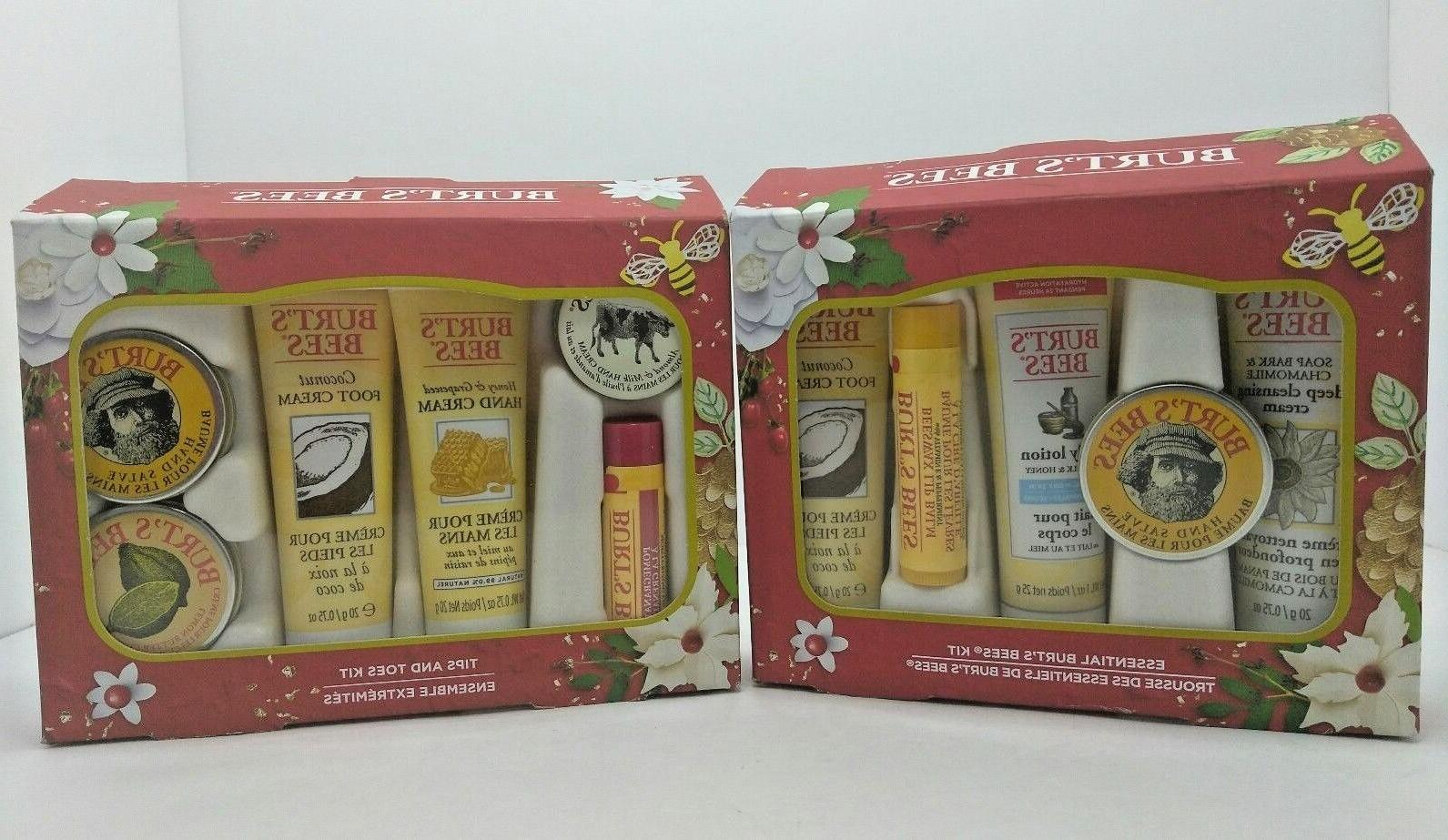 Essential BURT'S BEES Ultimate Travel Size Gift Set -- AMAZI