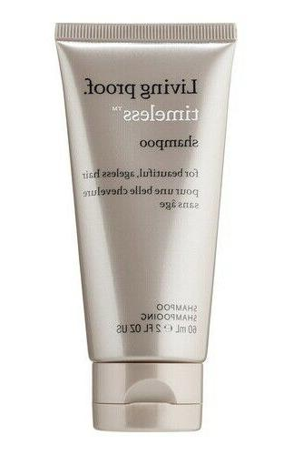 Living Proof TIMELESS Shampoo & Conditioner 2oz Travel Size