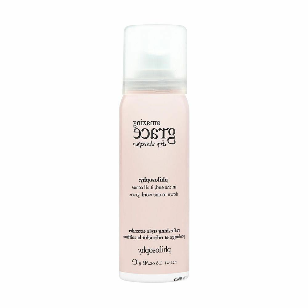 Philosophy Amazing Grace Dry Shampoo Travel Size 1.6 Oz 45 g