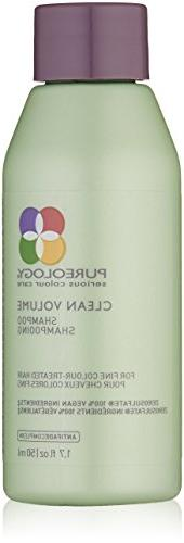 Pureology Clean Volume Shampoo & Conditioner 1.7oz Travel Si