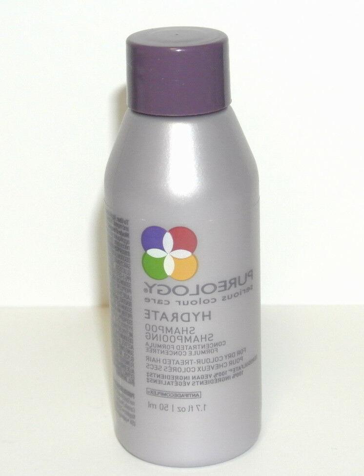 Pureology Hydrate Shampoo 1.7 oz Travel Size