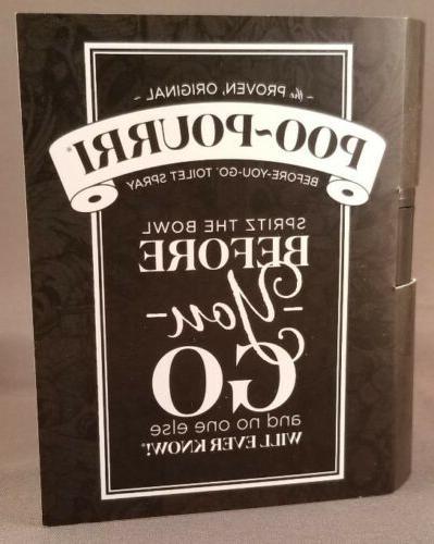 Qty 2 - Poo-Pourri Before-You-Go Toilet Spray Size Original