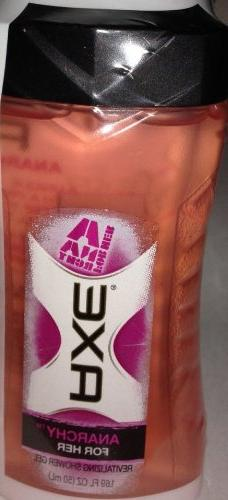 Axe Anacrchy for Her Revitalizing Shower Gel Travel Size 1.6