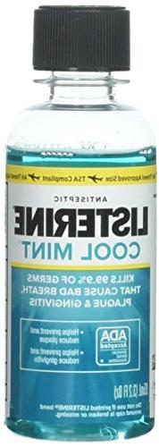 Listerine Antiseptic Mouthwash, Cool Mint 3.2 oz