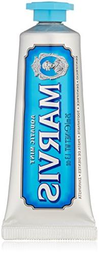 Marvis Aquatic Mint Toothpaste, Travel Size 1.3 Oz