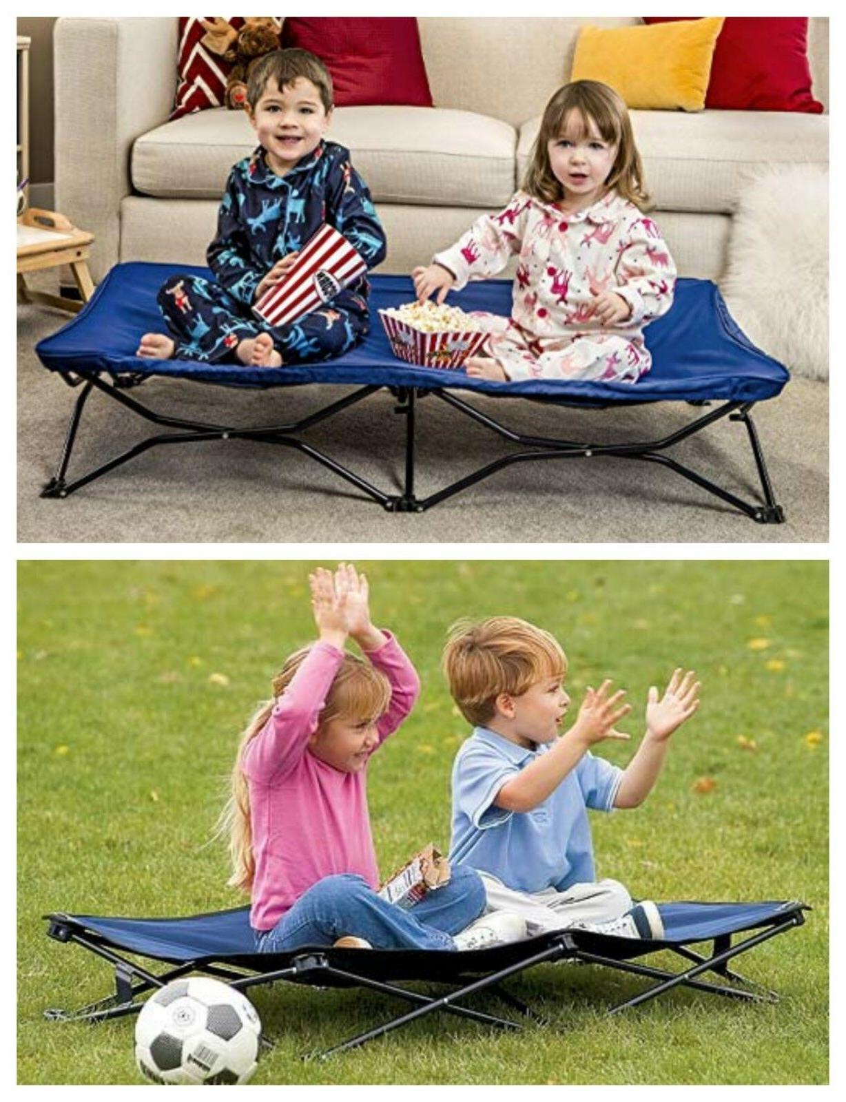 Baby Toddler Bed Kids Portable Beds Travel Portable Size Sof