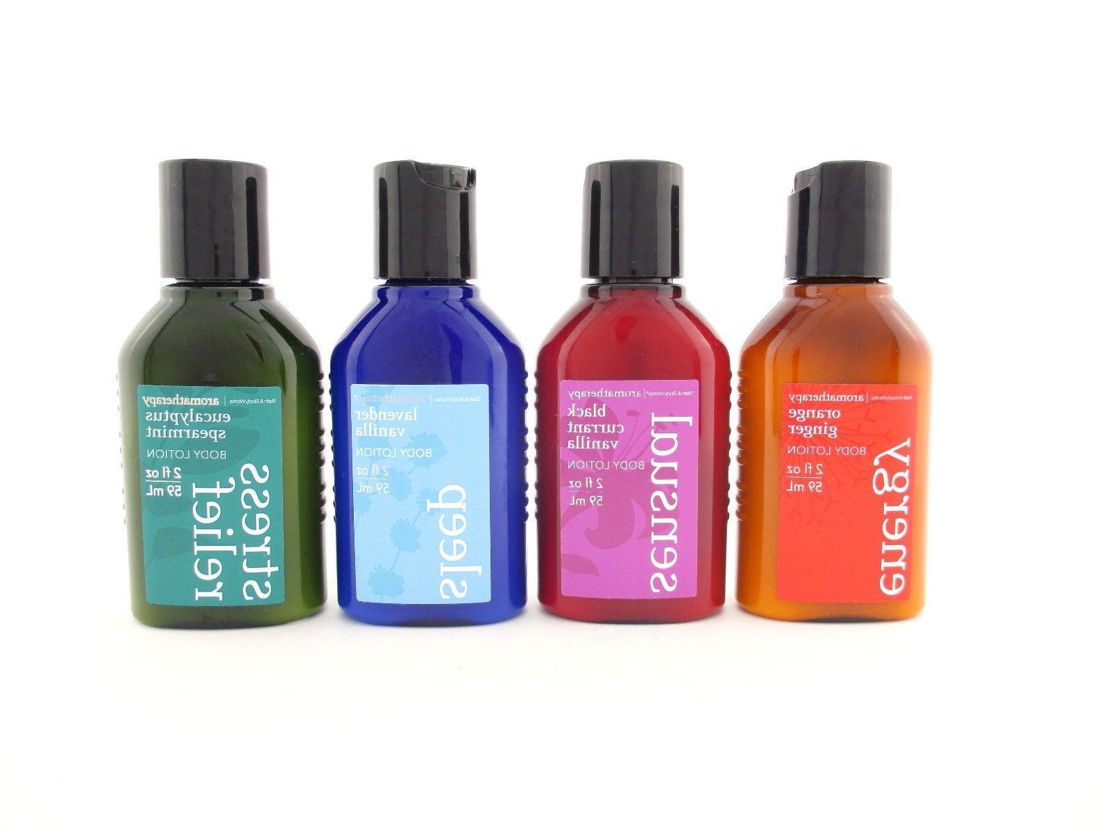 Bath Body Works 2oz Body Lotion Travel Size Aromatherapy Cho