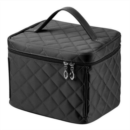 Big Size Nylon Cosmetic Bag Quality Zipper Single Layer Trav