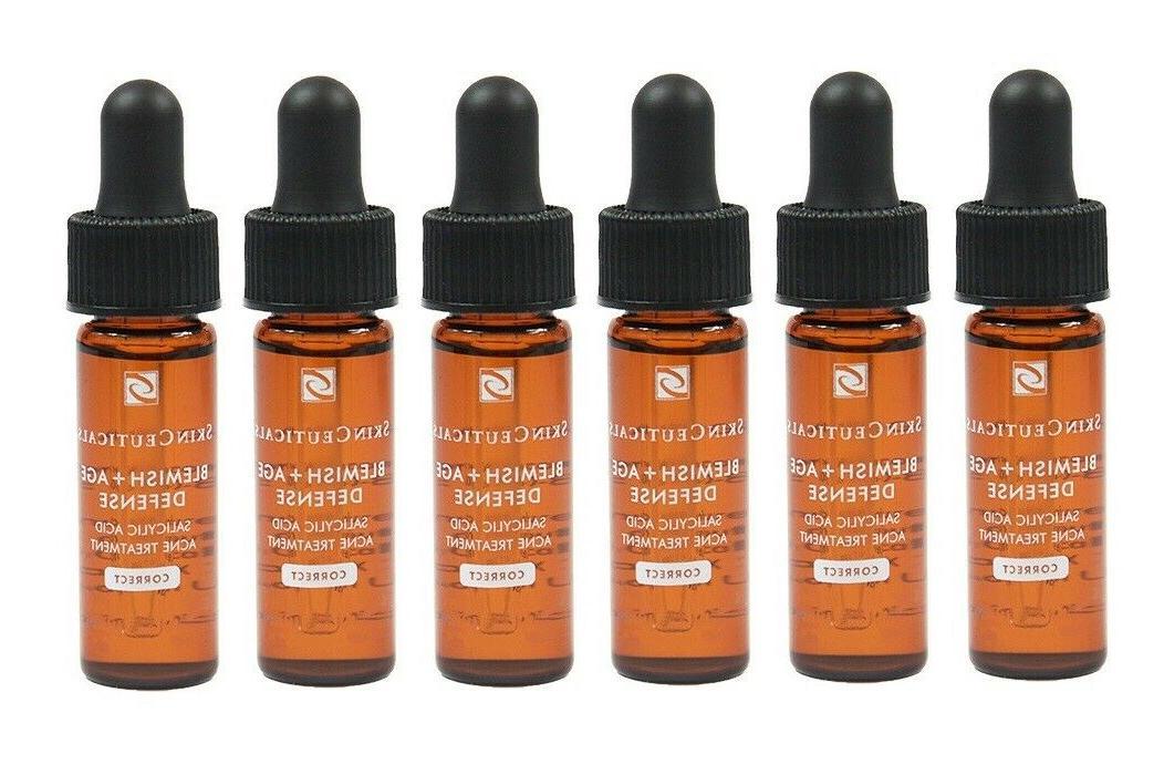 SkinCeuticals Blemish+ Age Defense 6 Samples Travel Size **F