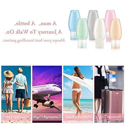 Travel TSA Uerstar Proof Travel Toiletry for Shampoo Lotion Soap