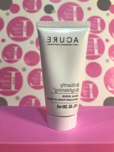 brightening facial scrub 1 fl oz travel