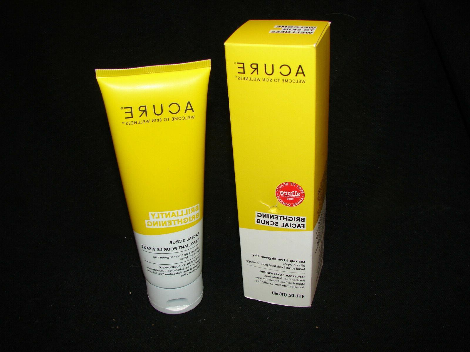 brightening facial scrub 4 fl oz scrub