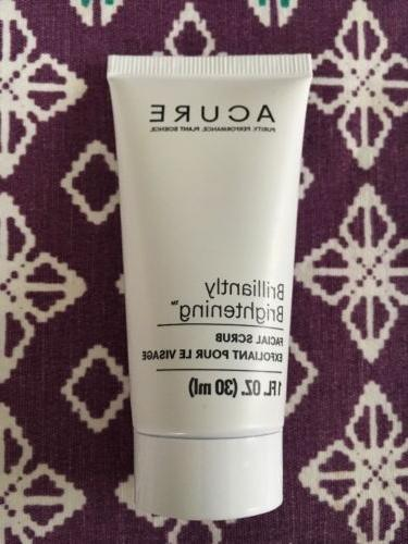 ACURE Brilliantly Brightening Facial Scrub Exfoliant 1 FL OZ