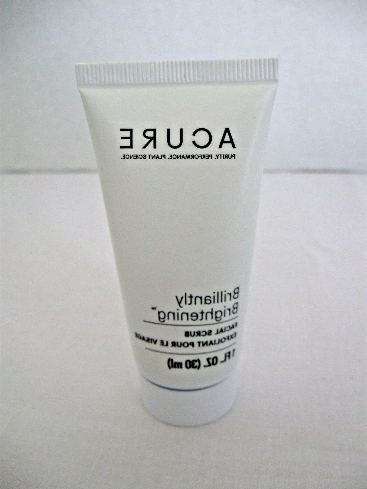 brilliantly brightening facial scrub travel size 1