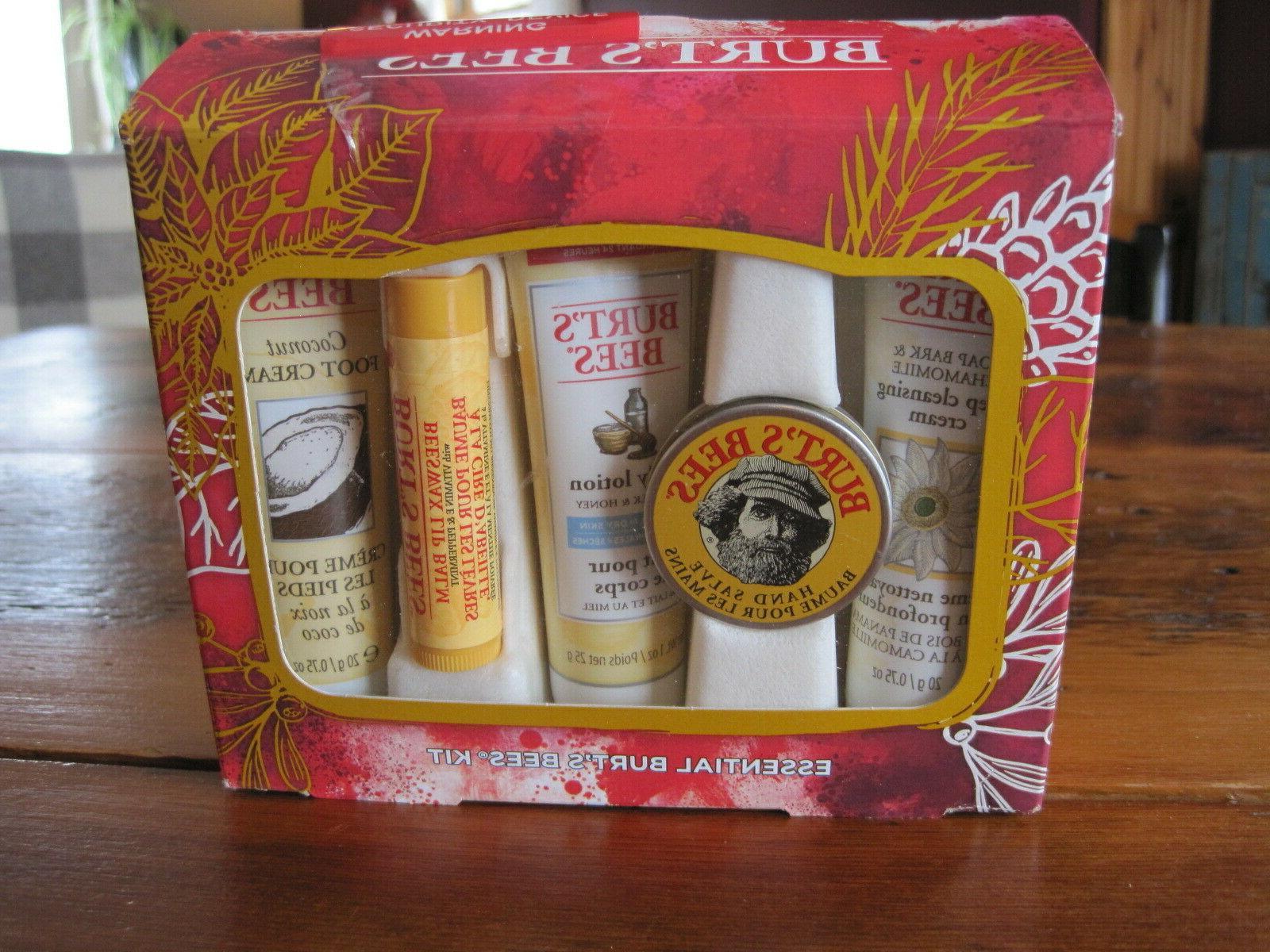 burt s bees holiday gift set essentials