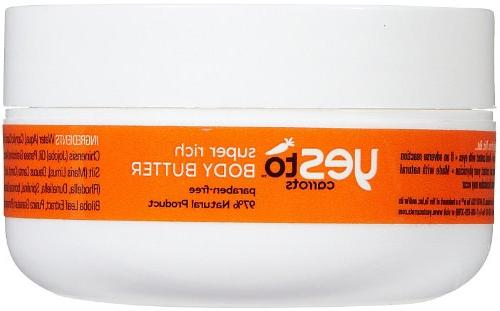 Yes to Carrots Body Butter, 1.01 oz