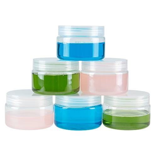 clear plastic jar containers