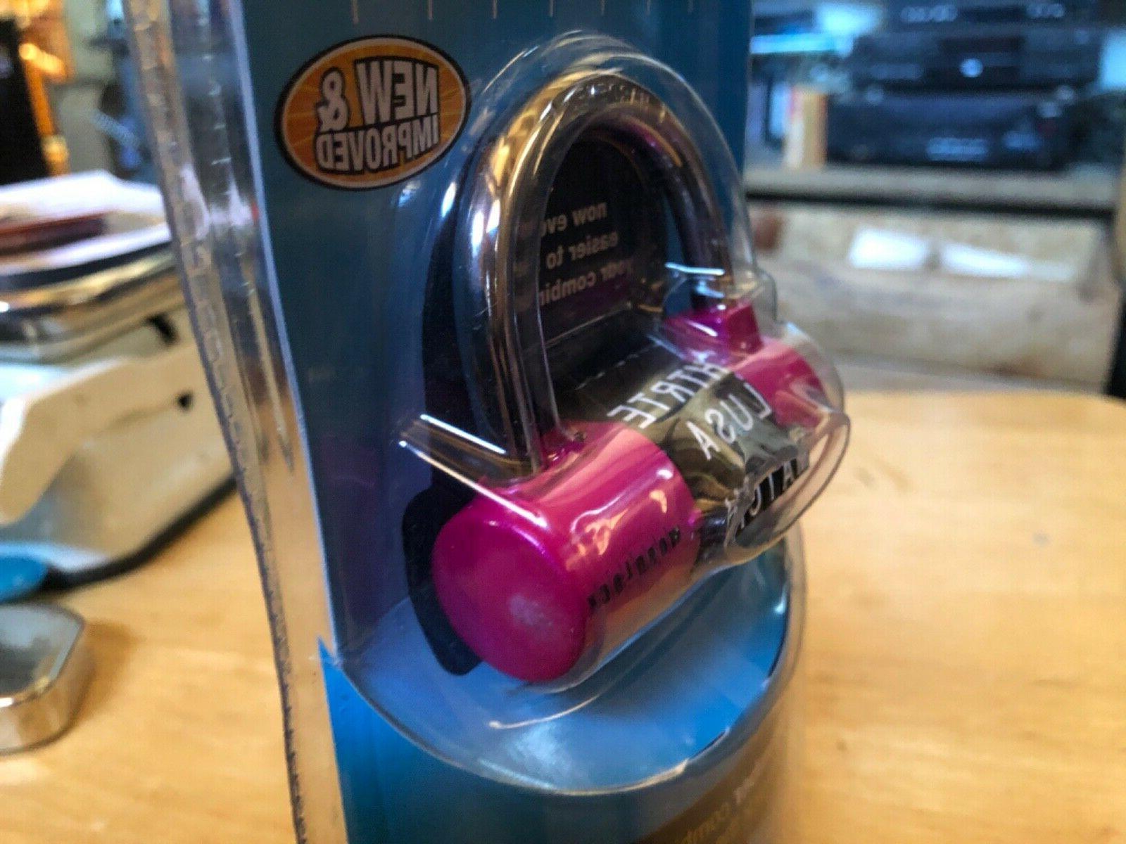 Wordlock Combination Padlock 5 Dial,