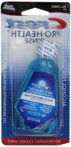 Handy Solutions Crest Pro Health Mouthwash, 1.22 Fl oz Packa