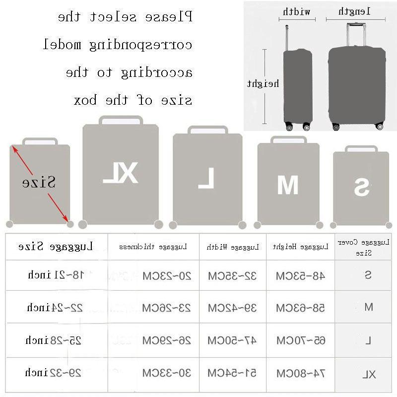 Cute <font><b>Travel</b></font> Protector For <font><b>Size</b></font> Case Dust <font><b>Travel</b></font> Elasticity Sets