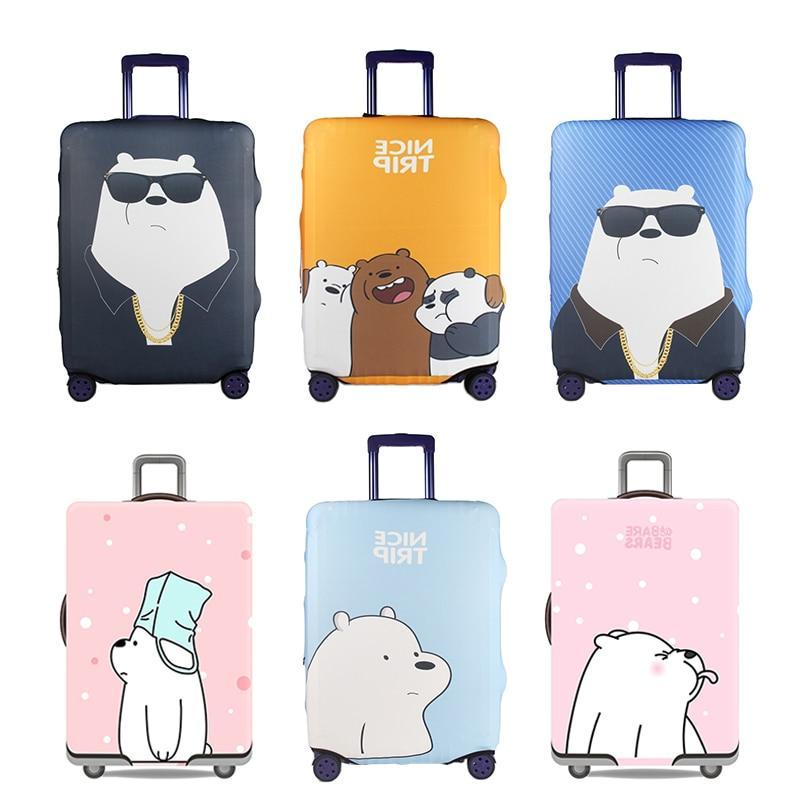 cute bear luggage cover font b travel