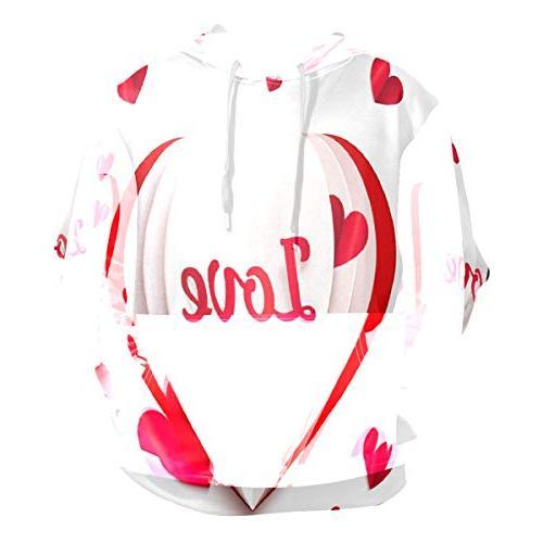 cute love hoodie 3d pullover