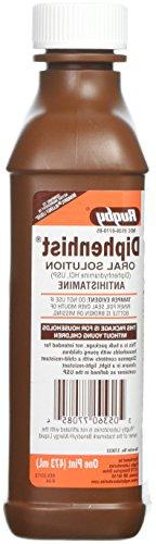 Diphenhydramine Oral Solution Antihistamine 16oz Bottle  - 2