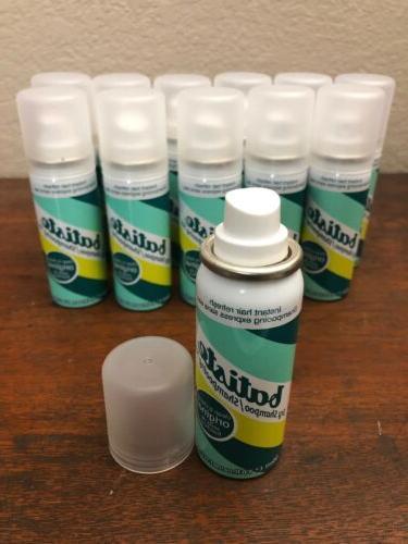 dry shampoo instant hair refresh 12 bottles