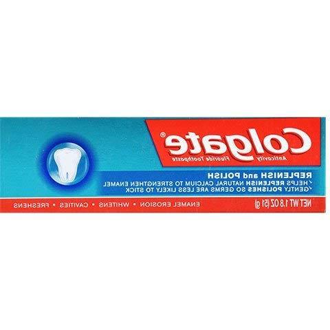 Colgate Enamel Toothpaste Pack TSA Approved