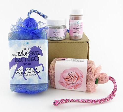 equestrian goat milk soap gift