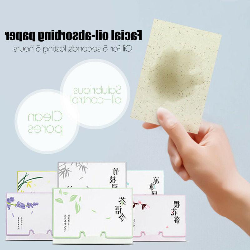 Paper Oil Face Absorbing Green Tea Blotting Facial Sheets Ti