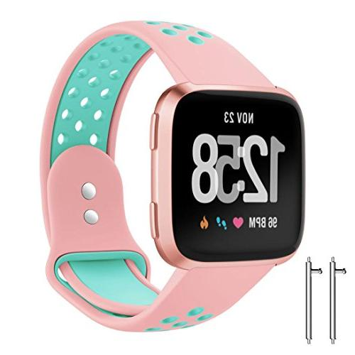 fitbit versa bands 1pc replacement with ventilation
