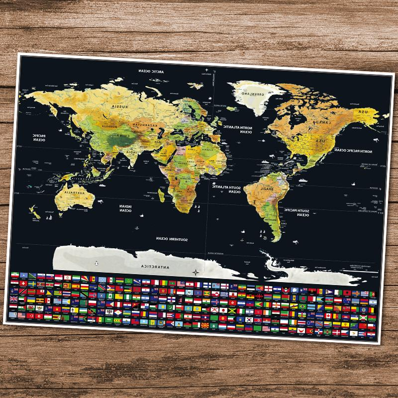 <font><b>Travel</b></font> World <font><b>Size</b></font> Bonus Traveller Adventure maps Easy to Gift