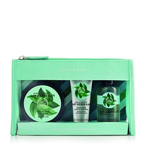 fuji green tea beauty bag