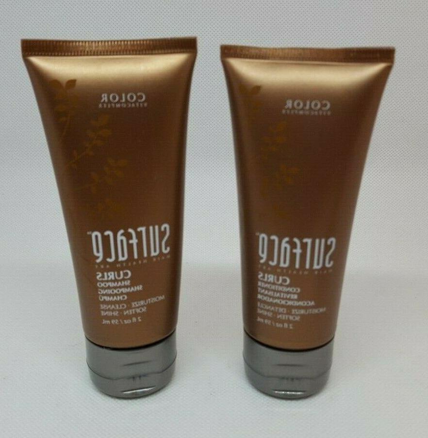 hair health art curls shampoo conditioner 2oz