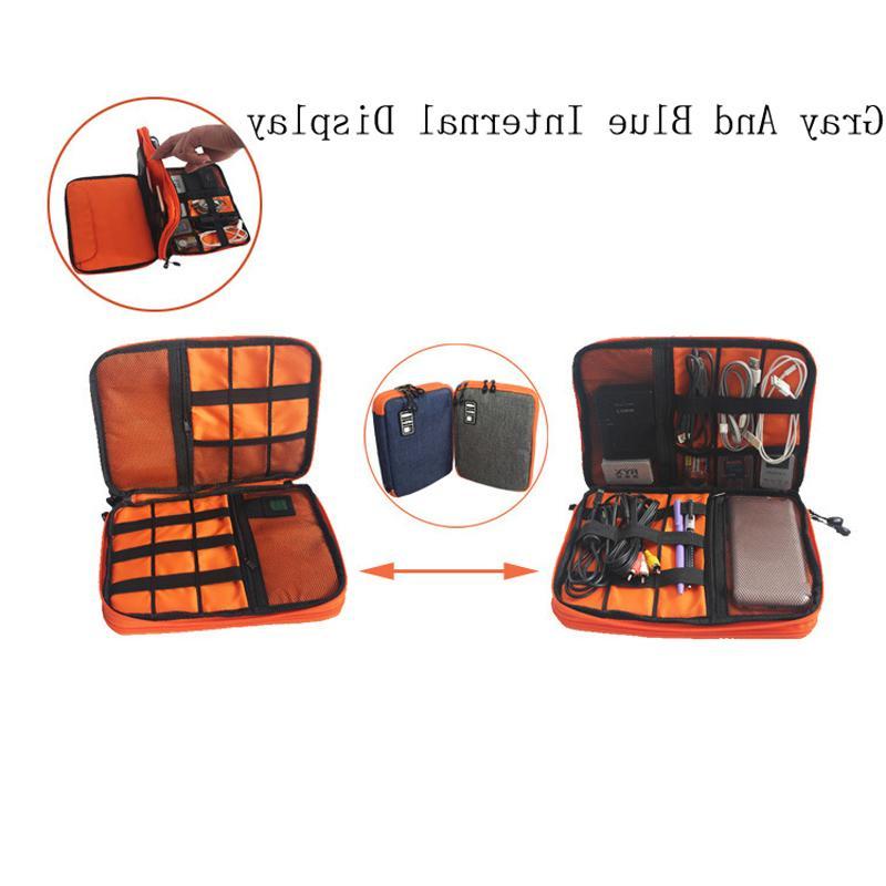 High Grade Layers <font><b>Travel</b></font> Electronic Organizer Carry <font><b>Bag</b></font>, Perfect for